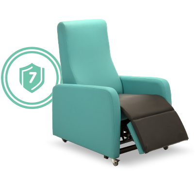 7 Year Warranty Chair and Badge
