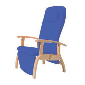 Atlanta Wooden Reclining Relax Chair High Comfort Patient Recliners