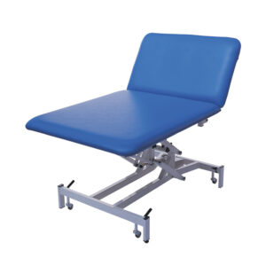 BE3050 2 section bariatric 50 stone couch, electric backrest/height adjustment; 100cm wide