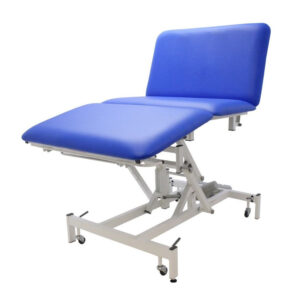 BE3055 3 section bariatric 50 stone couch, electric backrest/height adjustment; 100cm wide