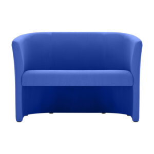 CA3712 Barra double tub chair, open front