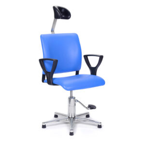 CA1109 Arnhem ENT Ophthalmic chair, with foot pump, glide feet and adjustable headrest