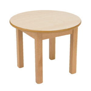 CA3705 Coffee table, round, wooden, low height 450mm high x 590mm diameter