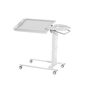 CA3491 Heavy-duty deluxe overchair table, tilting top, removable tray