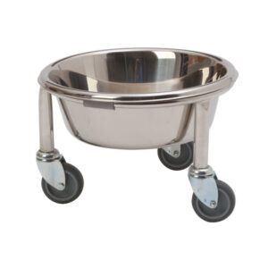CA3341 Kickabout bowl holder, stainless steel (includes bowl)