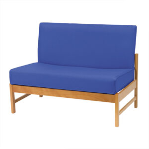 CA3165 Rona low-line 2-seater chair, no armrests