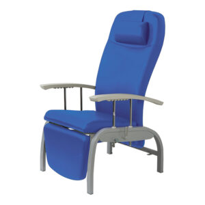 BE2020 Tucson reclining relax chair with small housekeeping rollers