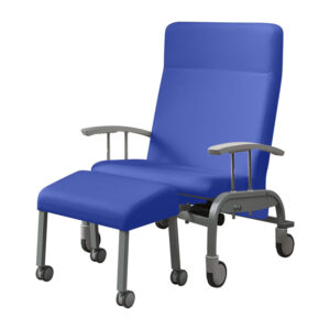 BE2030 Tucson bariatric reclining relax chair, mobile, with 4 large castors and central locking and electric backrest
