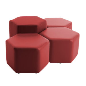 Rock Hexagons and Cubes Childrens Seating