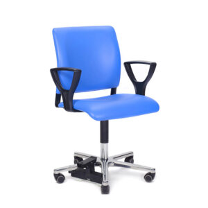 CA1101 Arnhem ENT Ophthalmic chair, with gas lift, non-rotating, castors andfloorlock
