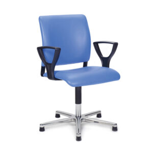 CA1102 Arnhem ENT Ophthalmic chair, with gas lift, non-rotating, glide feet