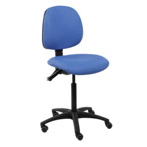 CA3116 Lewis operator chair with castors and black base