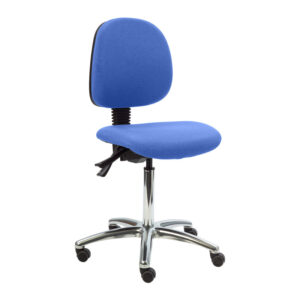 CA3118 Lewis operator chair with castors and polished base