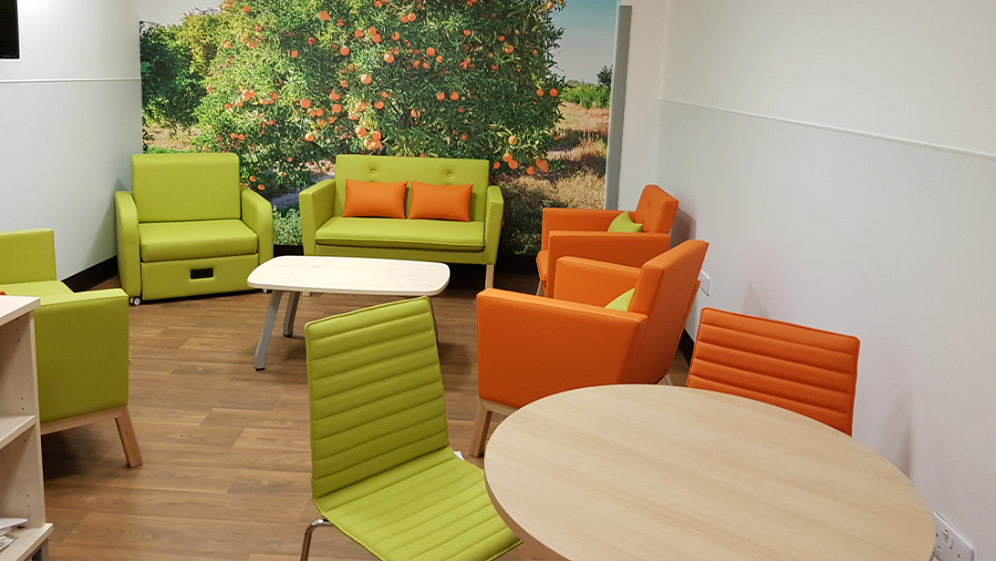 Transforming a multi-purpose room at Queen's Hospital, Romford