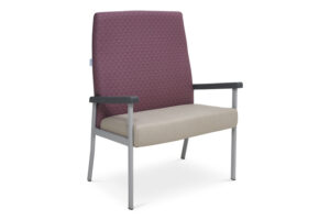 CA2022 Equala high back visitor chair, bariatric