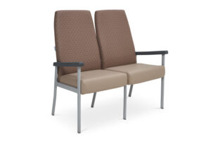 CA2030 Equala 2-seater beam seat, no centre arms, high back