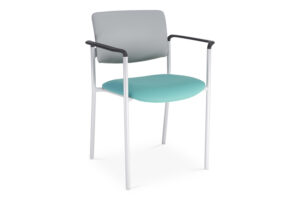 CA2110 Odessa® visitor chair, upholstered seat and back, with arms